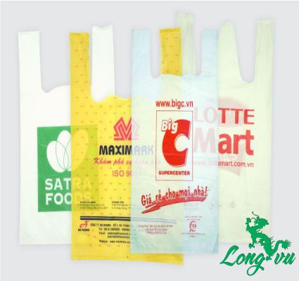 túi đựng đồ trong siêu thị