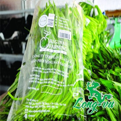 in túi pp nhựa đựng rau sạch